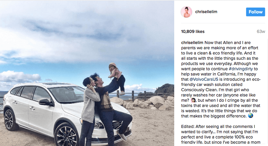 Monetizing Instagram the wrong way - chrisellelim