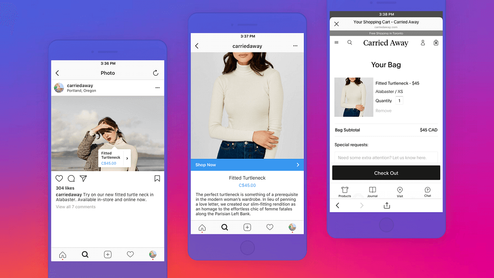 Monetize Instagram with Shopping on Instagram feature