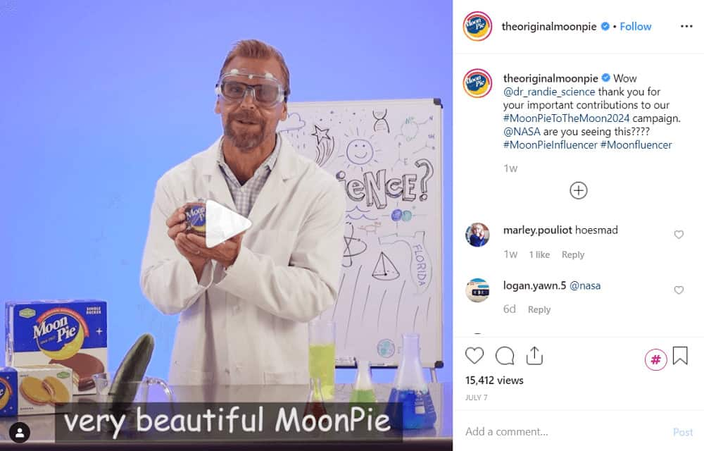 Get paid on Instagram through creative marketing - therealmoonpie