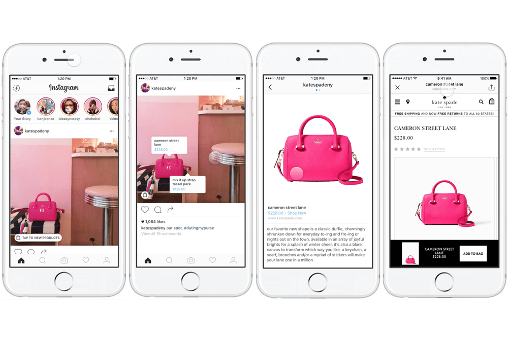 Instagram management with Shopping on Instagram