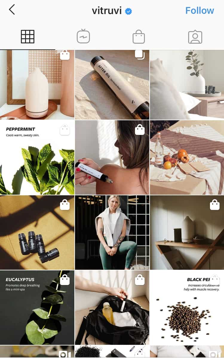 how to market on instagram - cohesive feed