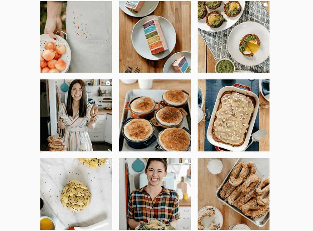 Establish a niche/brand - @mollyyeh
