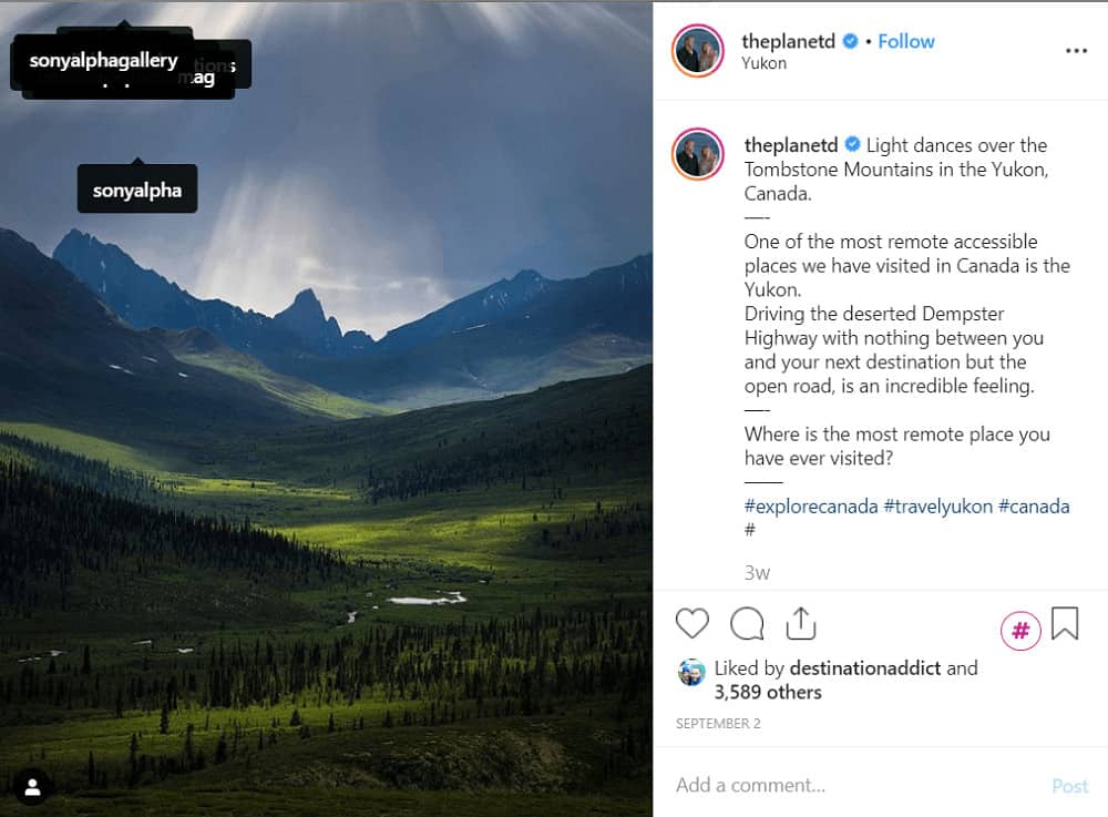 How to get sponsored on Instagram - use tags, @theplanetd