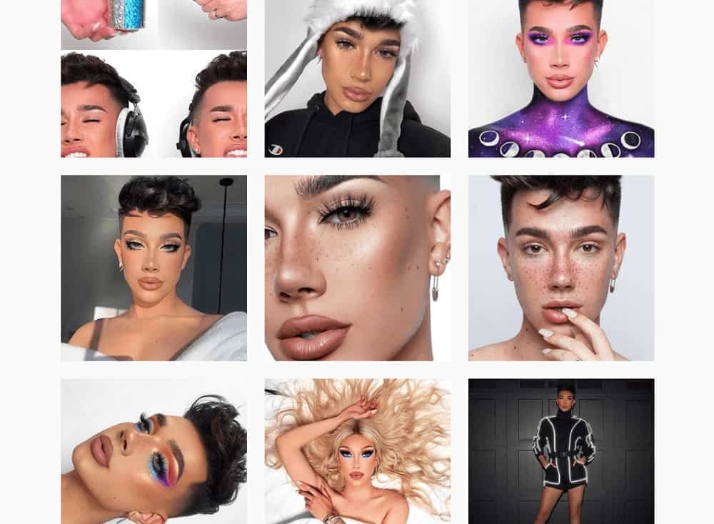 Who to follow on Instagram - jamescharles