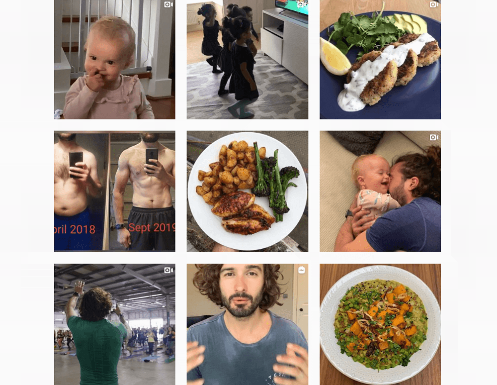Who to follow on Instagram - thebodycoach