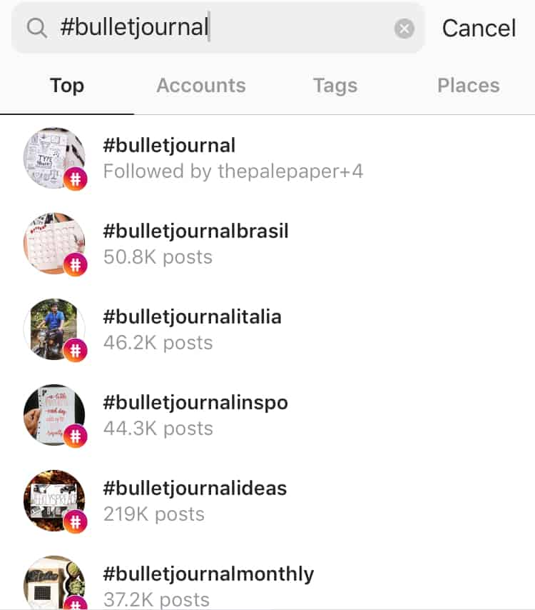 how to follow Instagram tags
